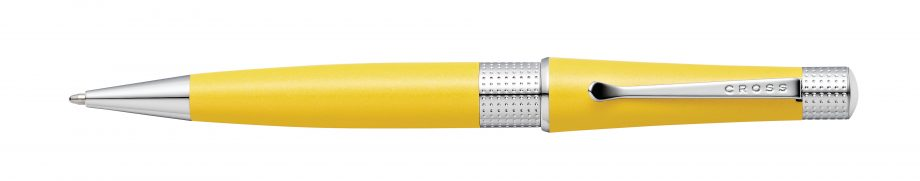 Beverly Sunrise Yellow Pearlescent Lacquer Ballpoint Pen