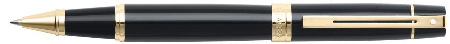 Sheaffer® 300 Glossy Black with Gold Tone Rollerball Pen