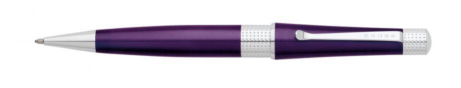 Beverly Deep Purple Lacquer Ballpoint Pen
