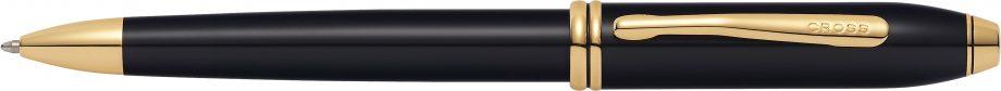 Townsend® Classic Black Lacquer Ballpoint Pen