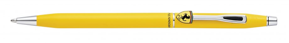 Cross Classic Century Collection for Scuderia Ferrari Matte Modena Yellow Lacquer Ballpoint Pen