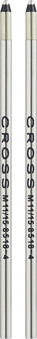 Mini Ballpoint Pen Refill - Black - Medium - Dual Pack