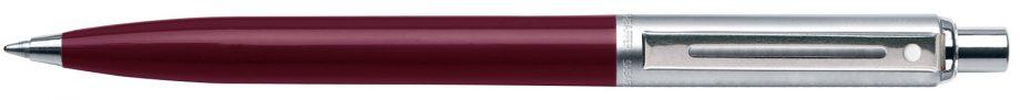 Sentinel Burgundy Barrel, Chrome Trim, Ballpoint Pen