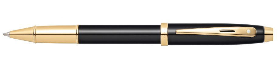 Sheaffer 100 Glossy Black with Gold-Tone Rollerball Pen