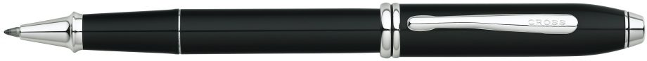 Townsend® Black Lacquer Rollerball Pen