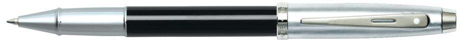 Sheaffer 100 Black Chrome Rollerball Pen