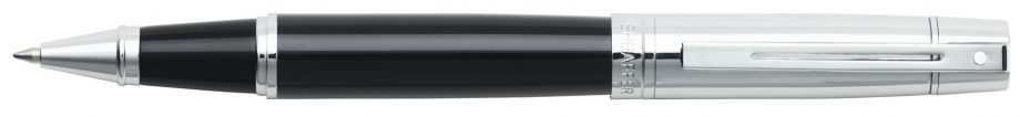 Sheaffer® 300 Glossy Black Barrel and Bright Chrome Cap Rollerball Pen