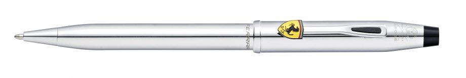 Cross Century II Collection for Scuderia Ferrari Polished Chrome Ballpoint Pen