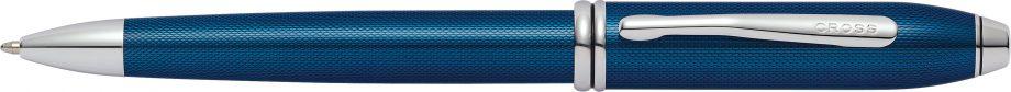 Townsend® Quartz Blue Lacquer Ballpoint Pen