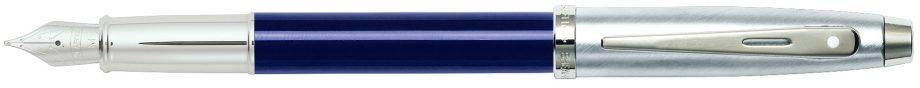 Sheaffer 100 Blue Lacquer Fountain Pen w/ Medium Nib