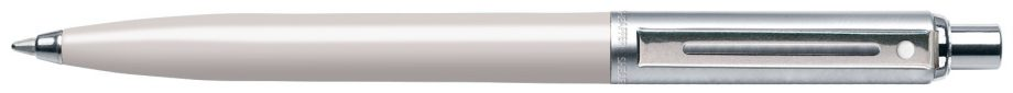 Sheaffer® Sentinel® Brushed Chrome Cap White Barrel Ballpoint Pen