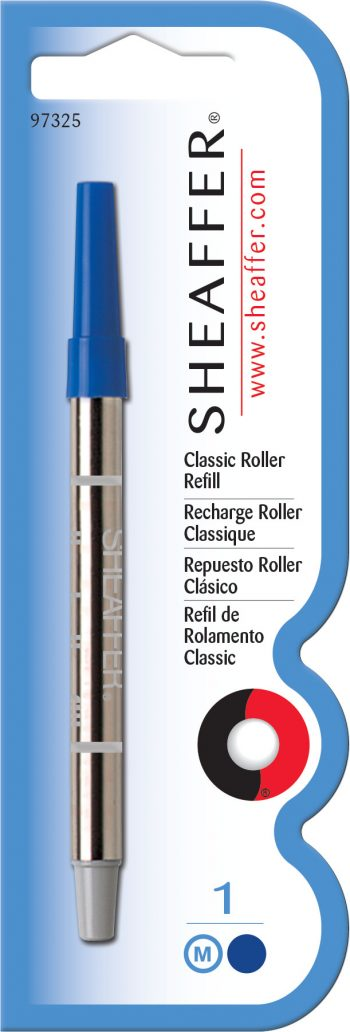 Sheaffer® Classic Rollerball Refill - Blue Medium - Blister Card
