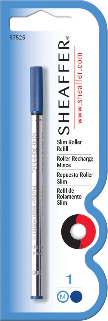 Sheaffer® Slim Rollerball Refill - Blue Medium - Blister Card
