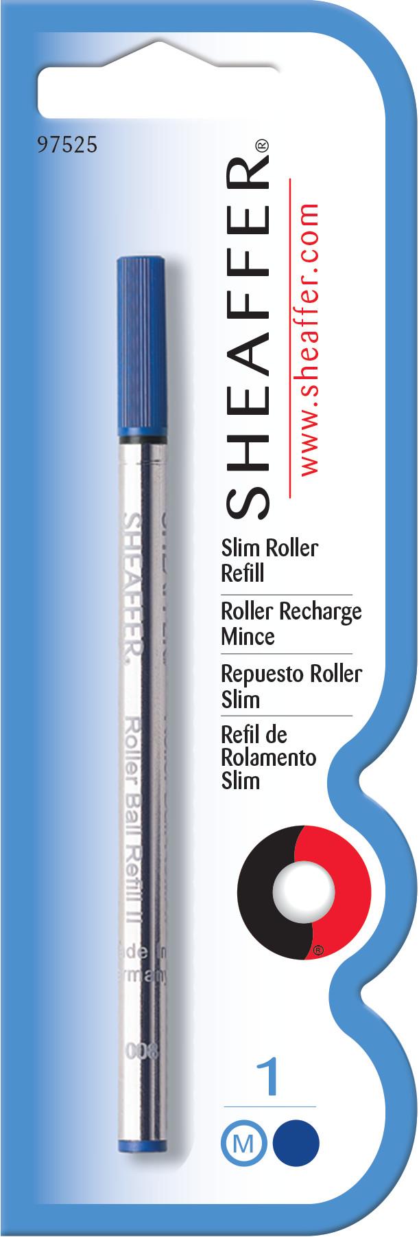 Sheaffer® Slim Rollerball Refill - Blue Medium - Blister Card