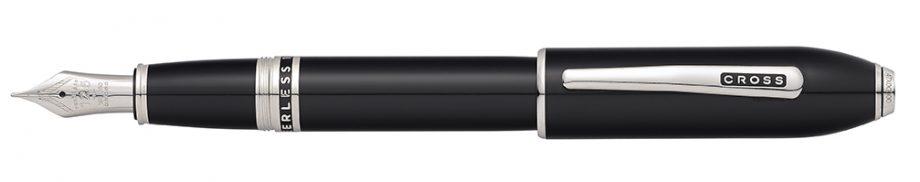 Peerless 125 Obsidian Black Lacquer Fountain Pen