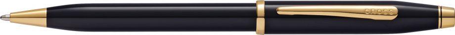 Century II Classic Black Ballpoint Pen