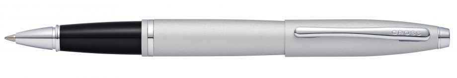 Calais Satin Chrome Rollerball Pen