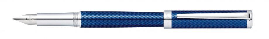 Sheaffer® Intensity® Engraved Translucent Blue Fountain Pen