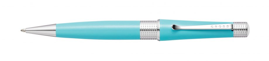 Beverly Sea Foam Pearlescent Lacquer Ballpoint Pen