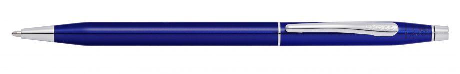 Classic Century Translucent Blue Lacquer Ballpoint Pen