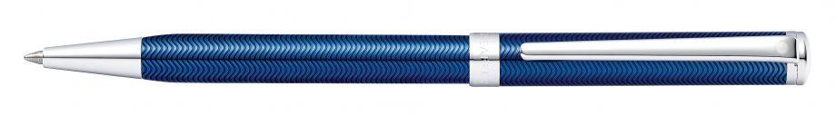 Sheaffer® Intensity® Engraved Translucent Blue Ballpoint Pen