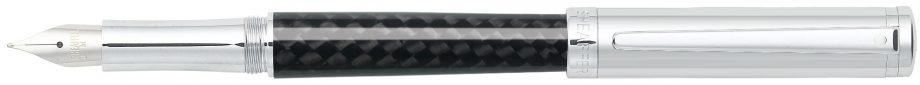 Sheaffer® Intensity® Carbon Fiber Barrel and Chrome Cap Fountain Pen