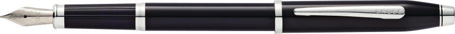 Century II Black Lacquer Fountain Pen