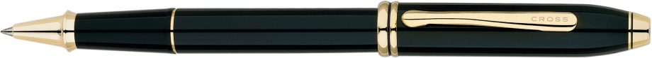 Townsend® Classic Black Lacquer Rollerball Pen