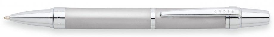 Nile Satin Chrome Ballpoint Pen