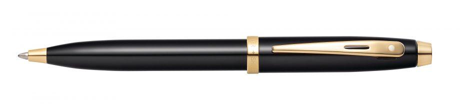 Sheaffer 100 Glossy Black with Gold-Tone Ballpoint Pen