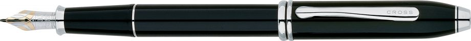 Townsend® Black Lacquer Fountain Pen