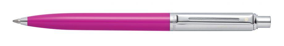 Sheaffer® Sentinel® Brushed Chrome Cap and Fuchsia Barrel Ballpoint Pen