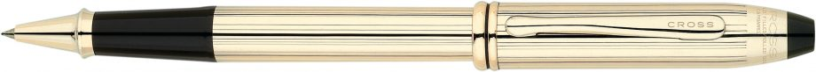 Townsend® 10KT Gold Filled/Rolled Gold Rollerball Pen