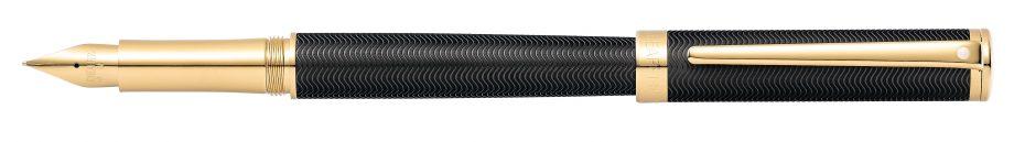 Sheaffer® Intensity® Engraved Matte Black Fountain Pen