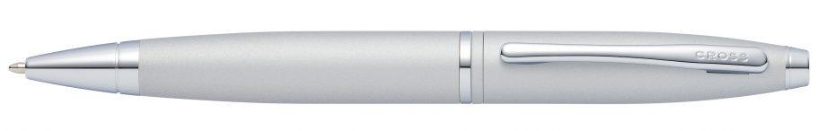 Calais Satin Chrome Ballpoint Pen