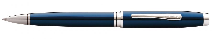 Coventry Blue Lacquer Ballpoint Pen