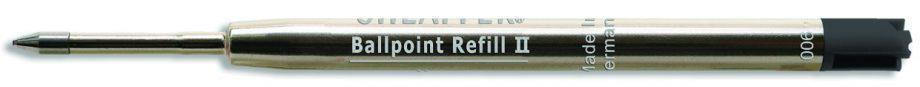 "Sheaffer® Ballpoint Refill ""T"" Style - Black Medium Blister Card (fits Sagaris, Taranis & Stylus)"