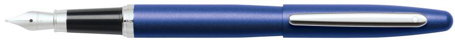 Sheaffer VFM Neon Blue Fountain Pen w/ Medium Nib