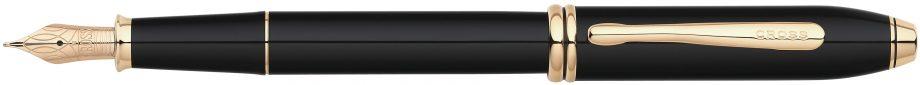 Townsend® Classic Black Lacquer Fountain Pen