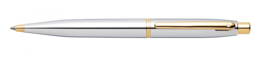 Sheaffer VFM Chrome with Gold-Tone Ballpoint