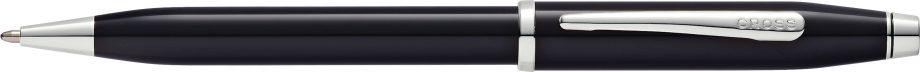 Century II Black Lacquer Ballpoint Pen