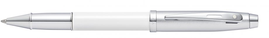 Sheaffer 100 White Lacquer Rollerball Pen