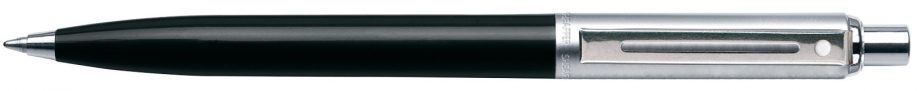 Sheaffer® Sentinel Black Barrel & Chrome Trim Cap Ballpoint Pen