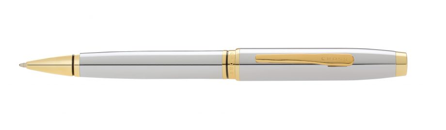 Coventry Polished Chrome with Gone-Tone Ballpoint Pen