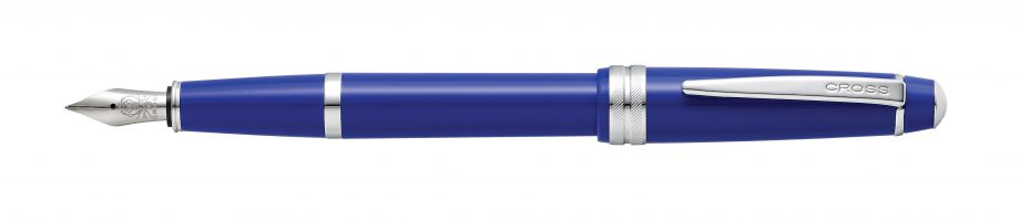 Cross Bailey Light™  Polished Blue Resin Fountain Pen