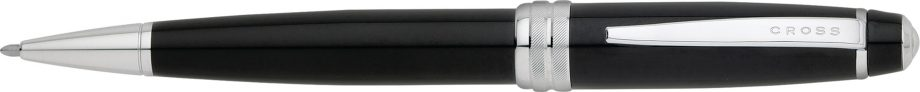 Bailey Black Lacquer Ballpoint Pen