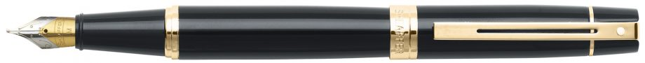 Sheaffer® 300 Glossy Black with Gold Tone Fountain Pen