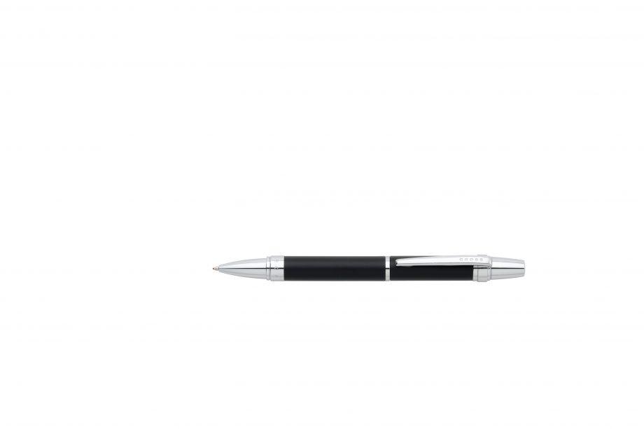 Nile Satin Black Ballpoint Pen
