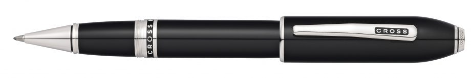 Peerless 125 Obsidian Black Lacquer Rollerball Pen