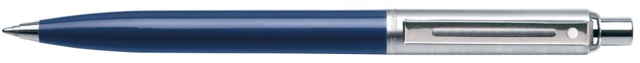 Sheaffer® Sentinel Blue Barrel & Chrome Trim Cap Ballpoint Pen